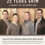 "4Him Reunites For ""25 Years 4Him"" Tour This Fall"