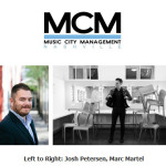 Music City Management Signs Marc Martel to Artist Roster