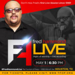 Gospel Icon Fred Hammond Hosts Live Recording on May 1st