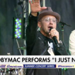 TobyMac Rocks Full Crowd At FOX and Friends' All-American Summer Concert Series
