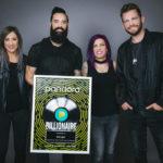 "Skillet Joins Ranks Of Pandora's Billionaires As ""Feel Invincible"" Reaches Platinum Certification"