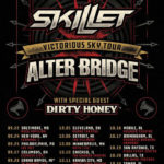 Skillet Announces Co-Headlining Victorious Sky Tour with Alter Bridge